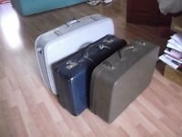 3 vintage suitcases - Antler Noton - £12 each or £30 for all three