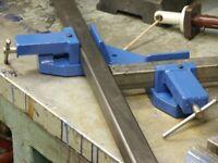 Corner welding clamp