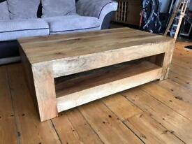 Solid mango wood coffee table £110 (bought for £250 from OakFurnitureLand)