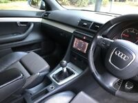 2007 Audi A4 2.0 TDi 170 S Line Special Edition Full Leather Sat Nav