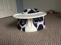 Bumbo baby seat with tray £20 ono