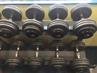 Dumbbells (25kg-37.5kg)
