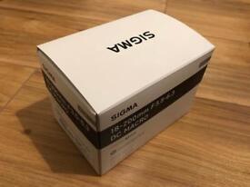 Sigma 18-200mm lens (3.5-6.3)