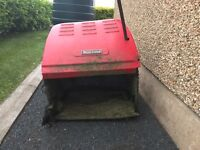 Countax Westwood grass collector and box