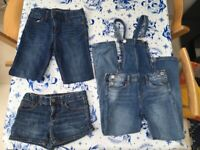 Brilliant Girls Gap Denim Bundle - 8 years - Excellent Condition