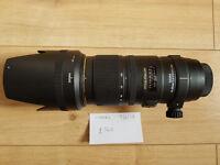Sigma 70-200mm 2.8 APO EX DG OS Nikon Fit