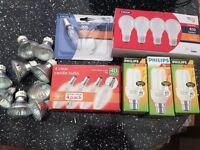Job lot of bulbs
