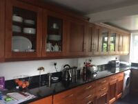 **REDUCED** Complete Kitchen for sale including Bevelled Granite Worktops, Sink and Tap **REDUCED**