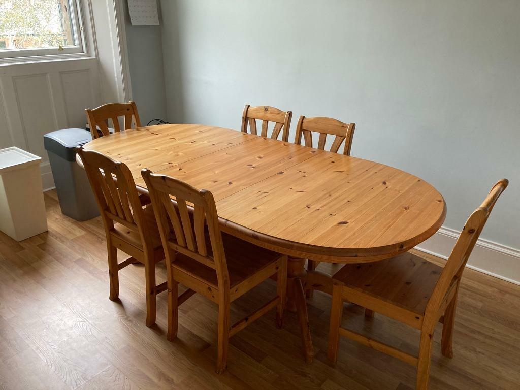 Dining table & chairs for sale   in West End, Glasgow   Gumtree