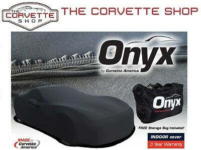 Corvette Onyx Car Cover C6 2005-2013 Lycra Spandex Indoor Lightweight 52266