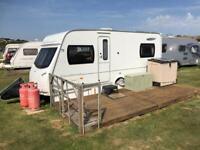 Lunar Quasar four-berth touring caravan