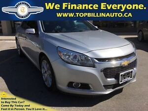 2014 Chevrolet Malibu 3LT Rare Turbo Engine, 2 YEARS WARRANTY