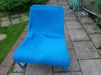 Ikea Blue Chair