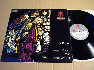 BACH - MAGNIFICAT ZUR WEIHNACHTSVESPER - LP WS(3)