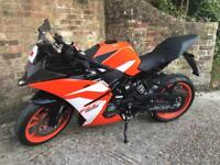 KTM RC 125 - 18 Plate - LOW MILES!