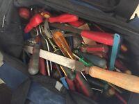 2 big bags of tools