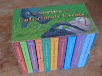 A Series of Unfortunate Events - Lemony Snicket - Boxed Set