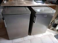 Prestige stainless steel fridge and freezer