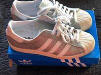 Adidas shell limited edition trainers 6 uk