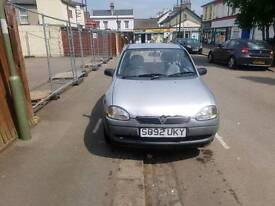 VAUXHALL CORSA 1.0. CHEAP TO RUN. VERY ECONOMICAL. BRILL CAR