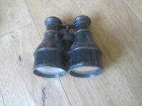 antique brass binoculars probably WWI