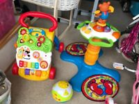 Selection of babies toys