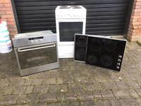 Cooker and hobs