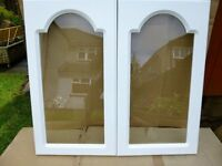 Glazed Doors for Kitchen Wall Unit