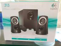 Z313 logitech stereo speakers and Subwoofer