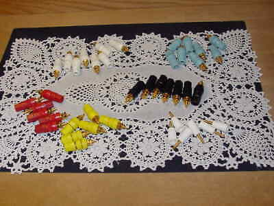 Lot Of 38 Staubli Multi-contact Banana Test Connectors Jack Panel Mount New