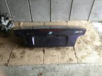 BMW e36 Convertible bootlid in Techno Violet M3
