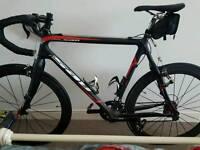Carbon fibre road bike