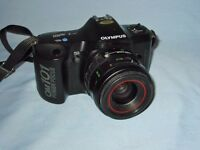 Olympus OM 101 Power Focus 35mm Film SLR Camera