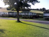 Static Caravan on family friendly holiday site with 6 fishing lakes near Newtown, Mid Wales