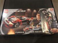 LEGO Racers New Sealed 8650 8645 Furious Slammer Muscle Bike