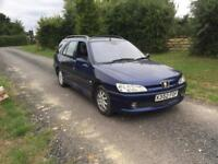 Peugeot 306 hdi diesel estate sw mot until April 2019 144k