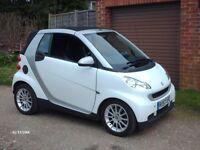 SMART CAR,CABRIOLET,PASSION,57 PLATE