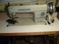 Highlead WALKING FOOT INDUSTRIAL SEWING MACHINE( Ideal for leather, upholstery,) Model GC0318