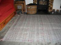 Large Indian made TK Maxx rug, carpet
