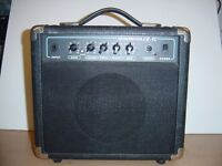Electric guitar practice amp amplifier portable
