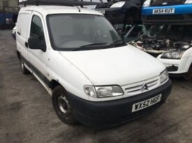 2002 CITROEN BERLINGO LX 600 (MANUAL DIESEL)- FOR PARTS ONLY