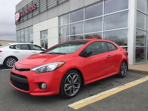 2014 Kia Forte Koup 1.6L SX 6 Speed, Spoiler Sharp Car ! One...