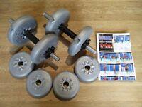 York 15 kg Dumbell set