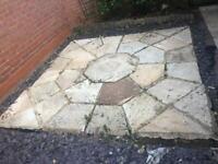 Natural Stone Garden feature set