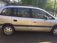 Vauxhall Zafira fully loaded