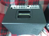 AER DOMINO 2A. ACOUSTIC AMPLIFIER. (unused)