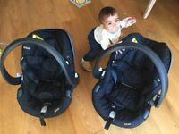 Stokke Izi Go BeSafe infant car seat 2x