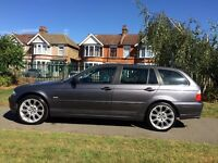 BMW 318i Touring Metalic Grey with Black LEATHER