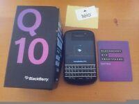 BlackBerry Q10 - 16GB - Black (EE NETWORK) Smartphone