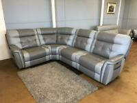 Scs power electric recliner and power head rest sofa